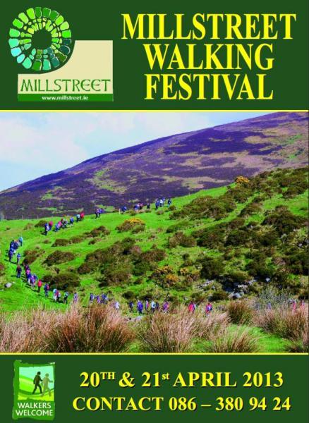 2013-03 Millstreet Walking Festival - brochure front page