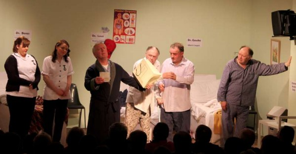 "The hugely entertaining ""Stop It Nurse!"" by the superb Banteer Drama Group has its final performances this Friday and Saturday nights 15th and 16th March 2013 at 8.30 pm.   We very much recommend this"