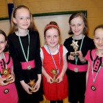 Millstreet Girls School Ballad Group, winners of the Scoraiocht 'B' Final 2013