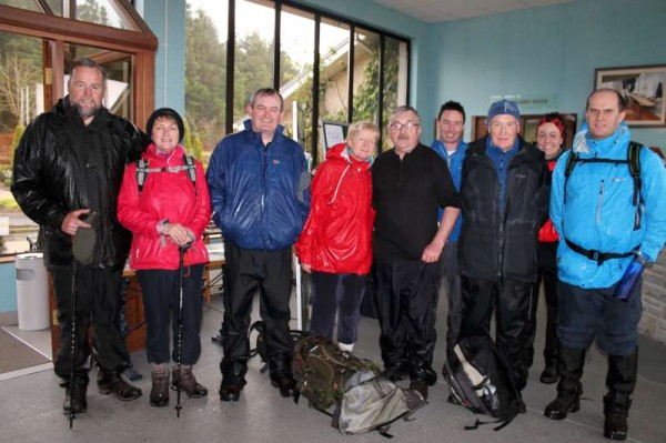 Millstreet Walking Festival at MCP 21st Apr. 2013