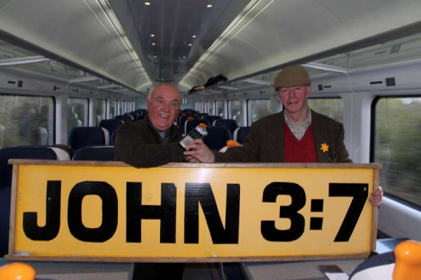On the train with John 3:7