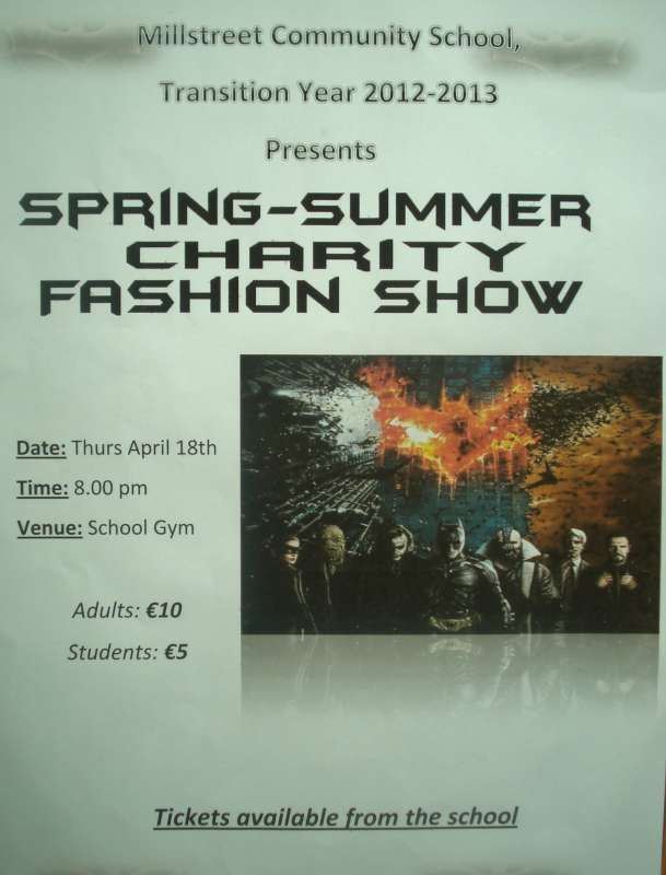 School Fashion Show poster-800