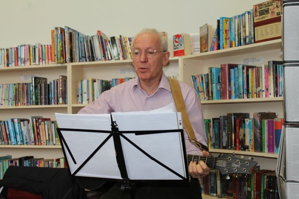 1Author Gerard O'Callaghan Presentation at Millstreet Library
