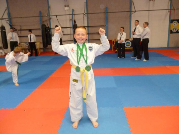 2013-05-05 Joshua O'Sullivan who won TaeKwon-Do Gold in Mayfield