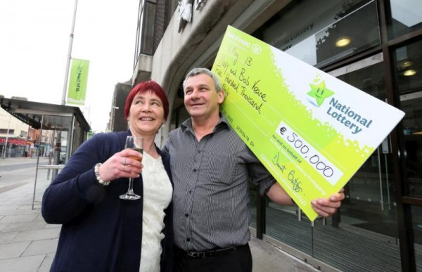 Congratulations to Bob and Mary Keane from Millstreet, Co. Cork who won €500,000 in our EuroMillions Plus game last Tuesday.