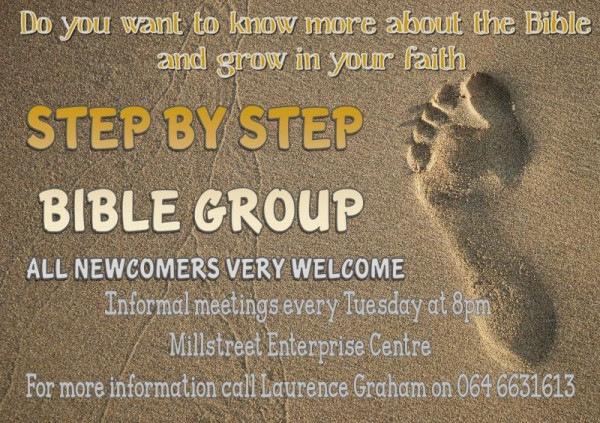 2013-05-15 Step by Step Bible Group - poster
