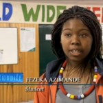 2013-05-20 World Wide Welcome at MCS on Nationwide RTE1 - 10 Fezeka Azimande