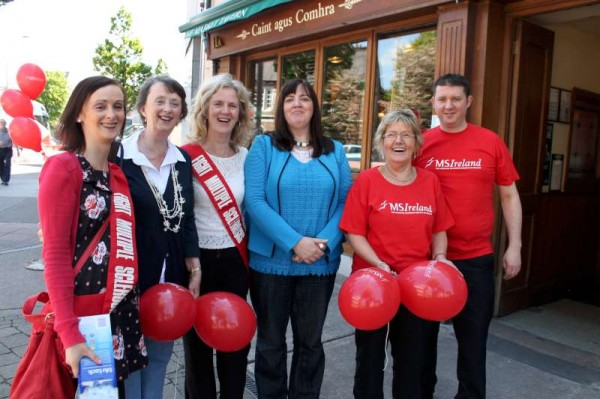 MS World Day in Cork City 29th May 20130