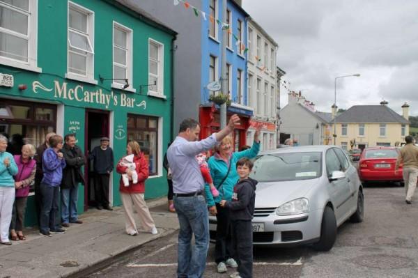 17Our Breton Friends Leave Millstreet on 15 June 2013 -800