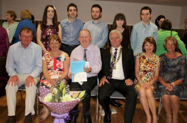 Retirement Reception for Pat Breen on 21st June 2013