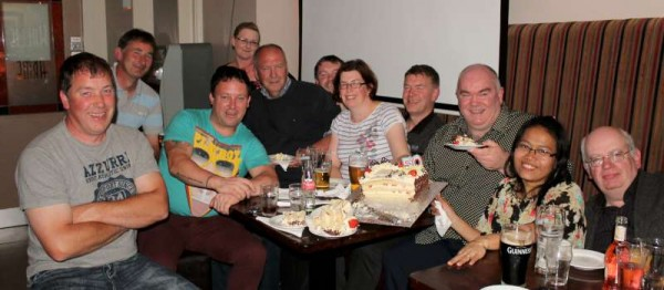 Ted Dineen's 50th Birthday at Wallis Arms Hotel on 21 June 2013