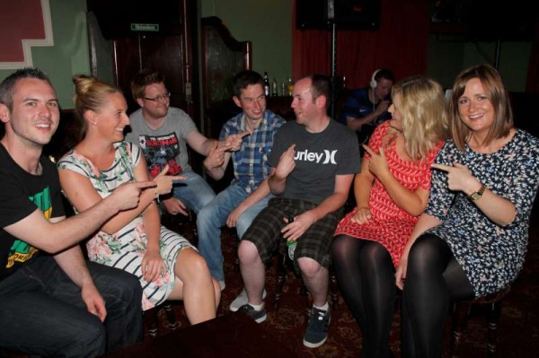 Connie Roche at Corkery's Bar on 6th July 2013
