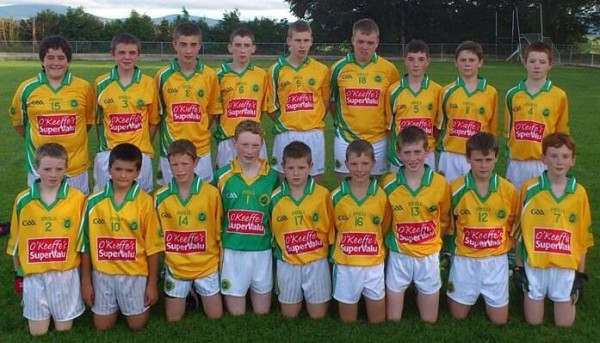 2013-08-21 Millstreet U14 Footballers winners of the Cork North Championship