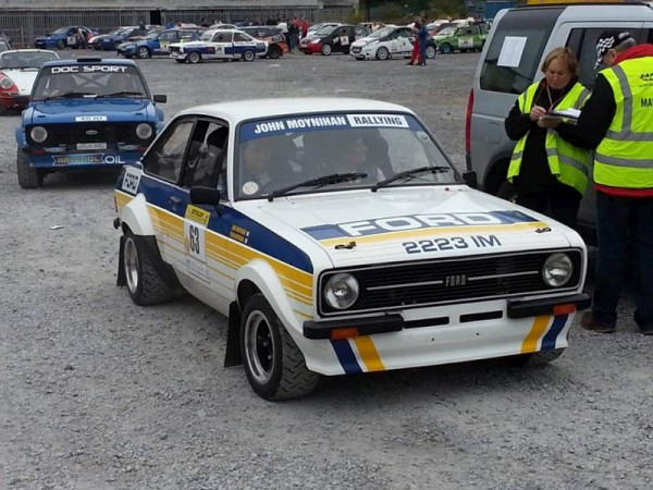 2013-09-02 Sean & John Moynihan at the Galway Stages Rally 2013