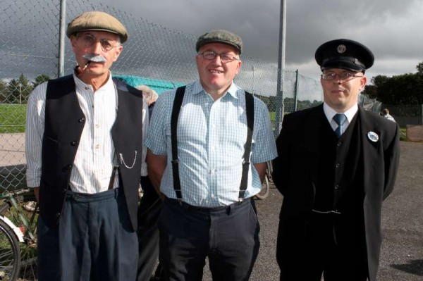 Superb period costumes were the order of the day at the wonderfully successful Coachford Autumn 2013 Festival over the weekend.   Here we feature part one of our coverage where we highlight the High Nelly Bike Run and meet with Dog Show entries as well as experiencing the marvellous world of steam engines.  Lots more Festival coverage later.  (S.R.)