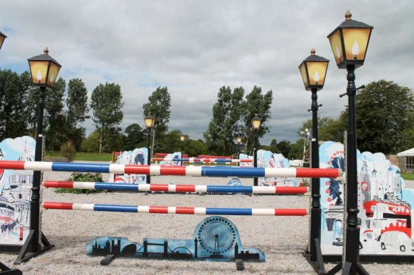 29Preparations for Millstreet Show August 2013 -800