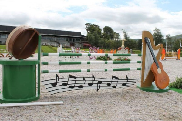 33Preparations for Millstreet Show August 2013 -800