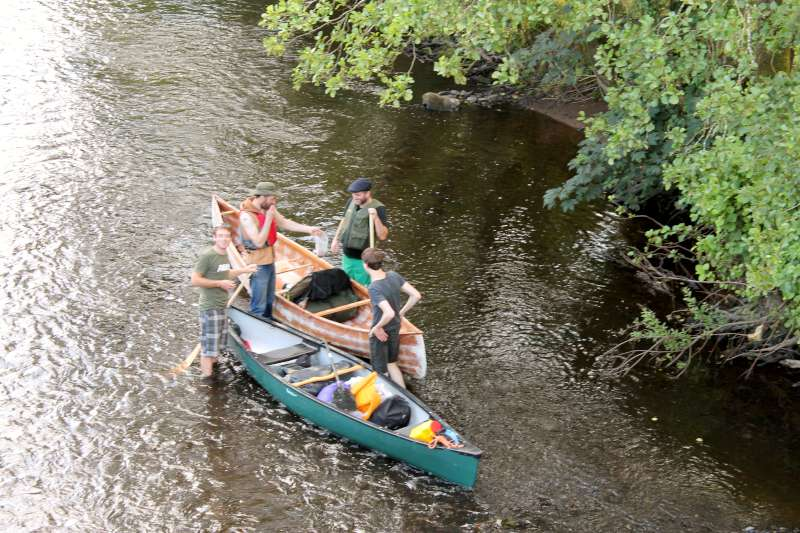 99Boating Adventure on River Blackwater - August 2013 -800