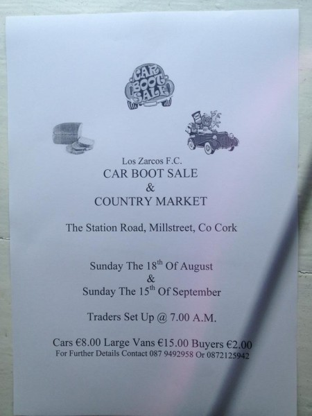 Car Boot Sale 2013 Poster