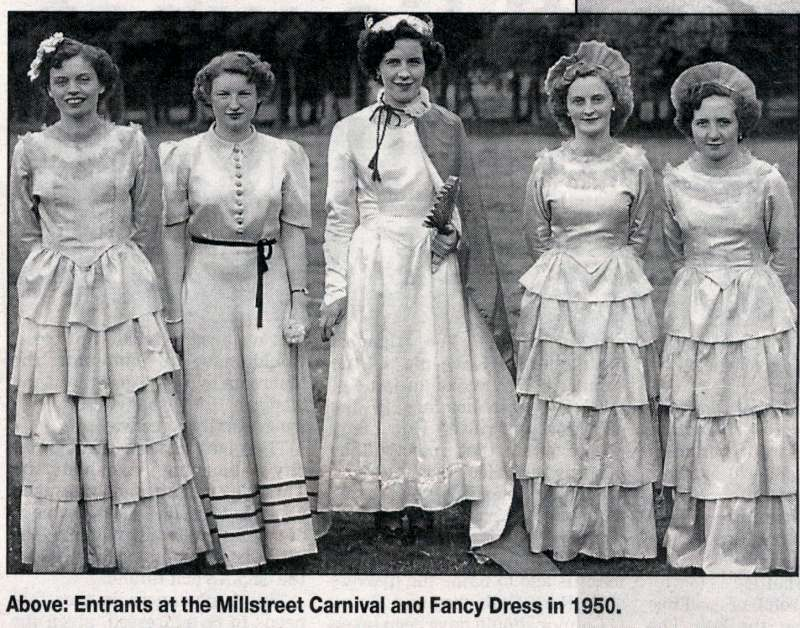 Millstreet Carnival Memories of 1950s