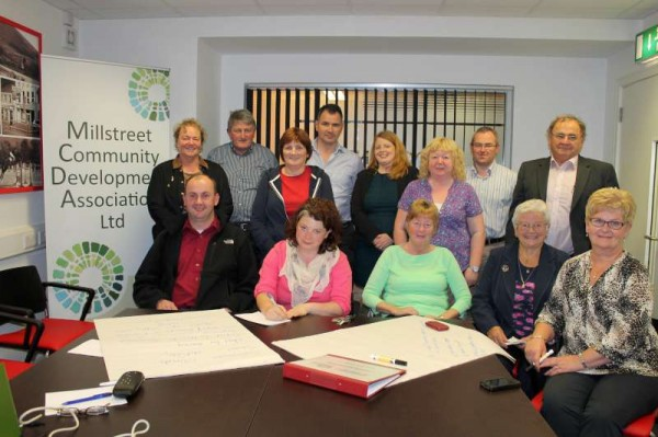 With Tourism Development in the Millstreet area as a focus, a special meeting was arranged by Áine Collins, T.D. at the E-Centre in The Square, Millstreet on Thursday evening.   Joining representatives from a number of Tourist-related Groups was Martina Canty from Fáilte Ireland and Judith Annett, Fáilte Ireland Mentor.  It was a very successful meeting with definite approaches for the future decided upon.   A further meeting is scheduled to be held in time.   Click on the images to enlarge.  (S.R.)