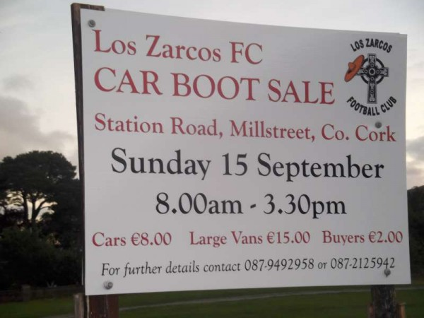 1Los Zarcos Car Boot Sale 15th Sept. 2013 -800