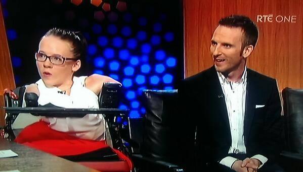 2013-09-27 Joanne & Steven O'Riordan on the Late Late Show