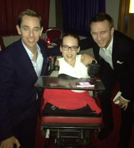 2013-09-27 Joanne & Steven O'Riordan with Ryan Tubridy at the Late Late Show
