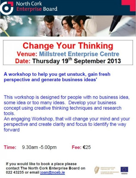 2013-09 Change your Thinking - poster