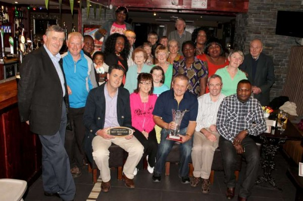 Pictured at the presentation ceremony of the Millstreet Tidy Towns 2013 Local Awards which was held in the Wallis Arms Hotel on Wednesday night (25th Sept.).  Click on the images to enlarge.  (S.R.)