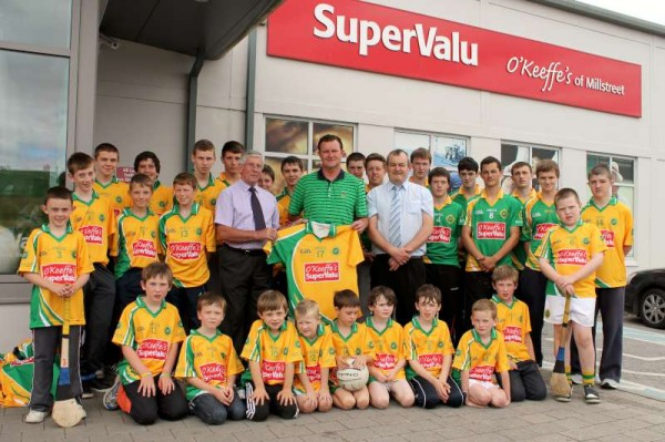31Supervalu Presentation of Jerseys to Millstreet Juvenile GAA -800