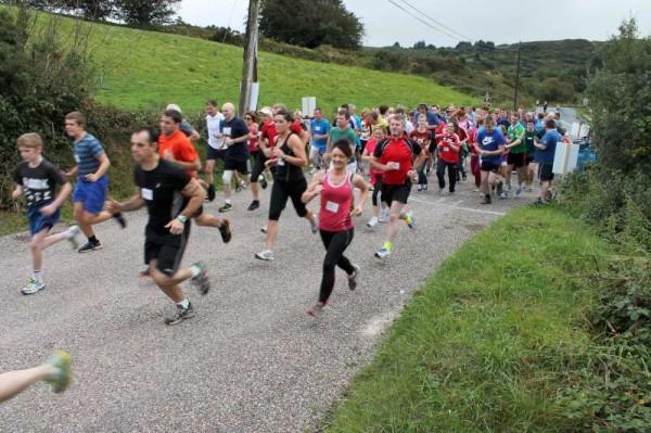 33Carriganima 4mile Walk on 21st Sept. 2013 -800
