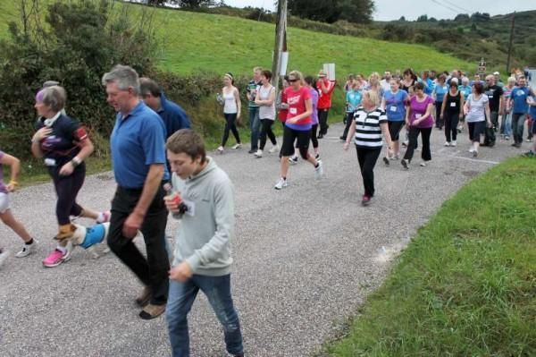 40Carriganima 4mile Walk on 21st Sept. 2013 -800