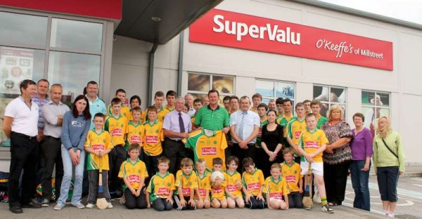 44Supervalu Presentation of Jerseys to Millstreet Juvenile GAA -800