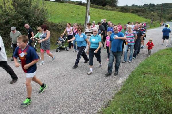 45Carriganima 4mile Walk on 21st Sept. 2013 -800