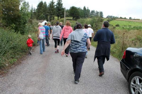 50Carriganima 4mile Walk on 21st Sept. 2013 -800