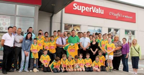 50Supervalu Presentation of Jerseys to Millstreet Juvenile GAA -800
