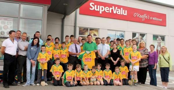 51Supervalu Presentation of Jerseys to Millstreet Juvenile GAA -800