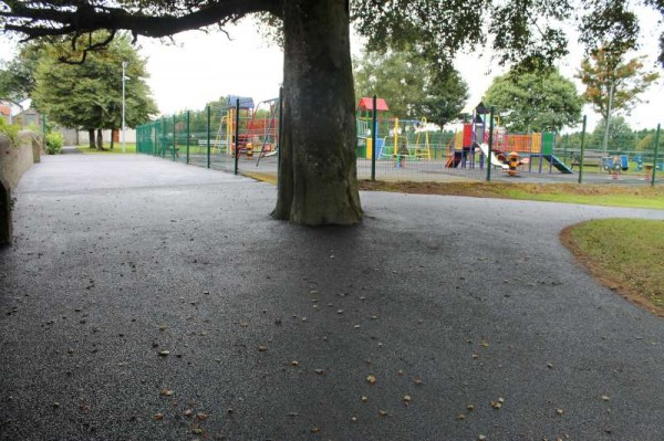 Over the past few days much praise has been accorded to Millstreet Town Park Committee on coordinating the magnificent tarmacadam finish on the various pathways near the Children's Playground.   This area looks so very neat and tidy.  Great credit is due to All who have brought about all these great improvements.