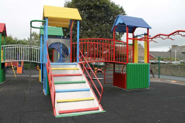 The beautifully painted Children's Playground at Millstreet Town Park is just one of three marvellous recent developments which are a source of joy to the many people who visit our wonderful Town Park which came into being in 1958.  (S.R.)