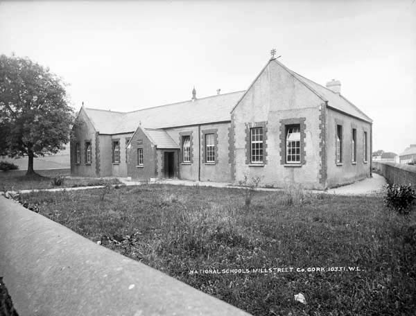 1910s Boys National School - Clara Road