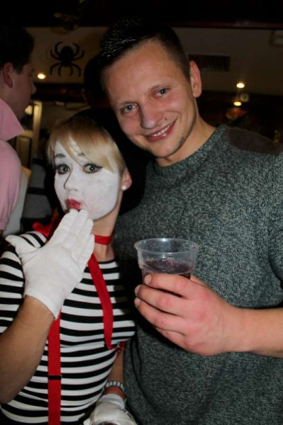We share the first of many selections of images from Friday night's wonderfully successful Fancy Dress event at the Wallis Arms Hotel.   Click on the pictures to enlarge.  (S.R.)