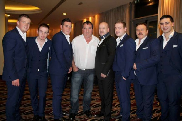 William Fitzgerald with the Davitts Showband in Galway 4th Nov. 2013