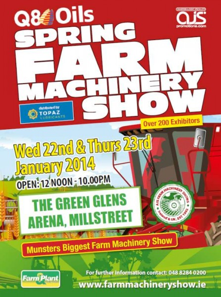 2014-01-13 Spring Farm Machinery Show - poster