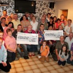 3Presentation of Carriganima Walk Cheques 2013 -800