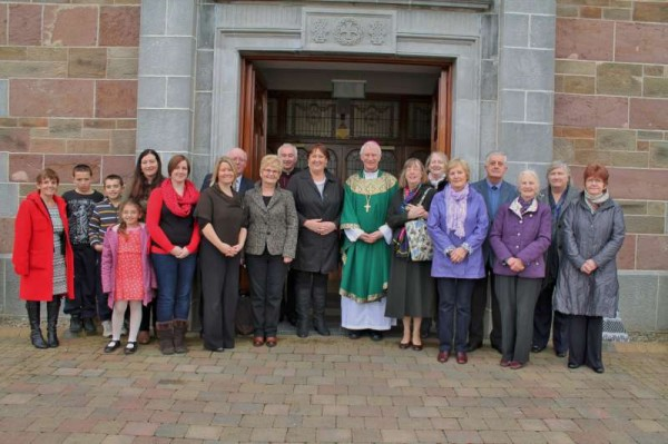 10Bishop Ray Browne Greets the People of Millstreet 2013 -800