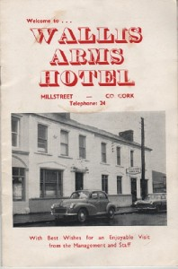 1960s Wallis Arms Booklet - front page