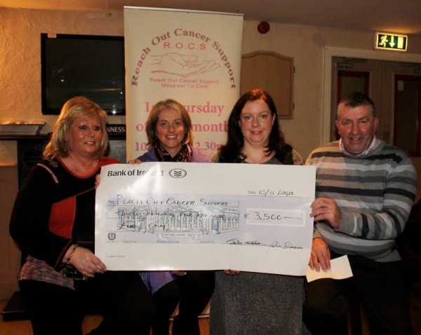 1Cheque Presentation at Wallis Arms 10th Nov. 2013 -800