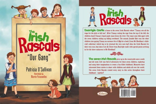 2013-11-08 The Irish Rascals - Our Gang - book cover-1000