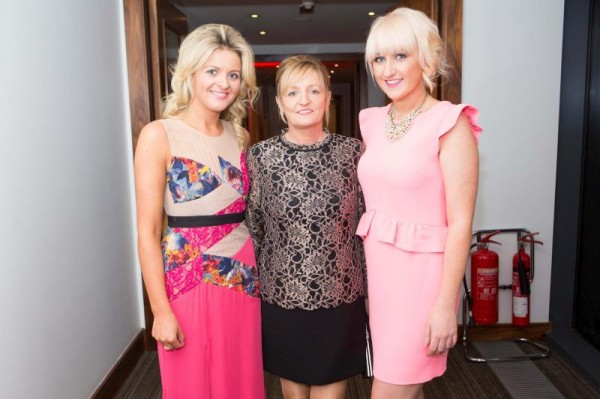 2013-11-15 At the Cork Foundation Inaugural Dinner - Ciara Collins (right)